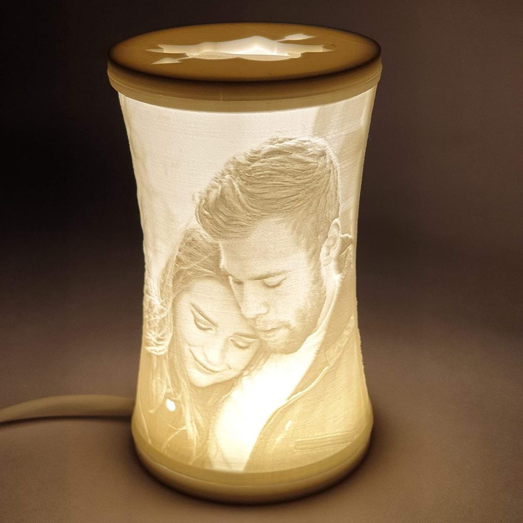 Lithophane Photo lamp 1