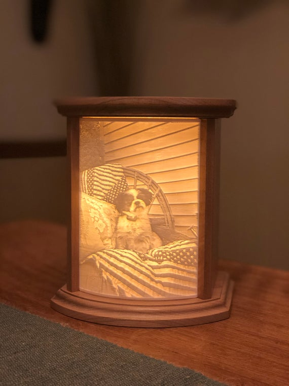 Lithophane Photo lamp 3